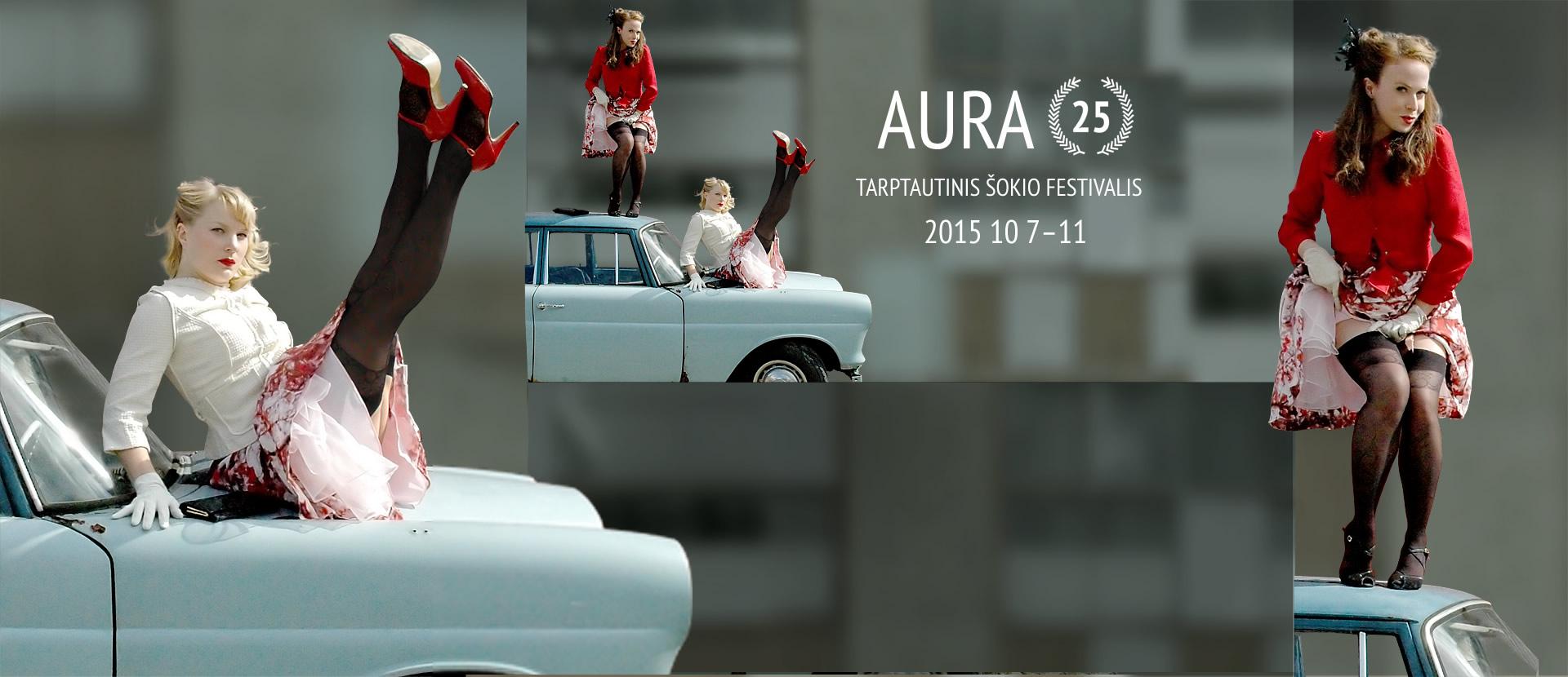 Tarptautinis šokio festivalis AURA 25