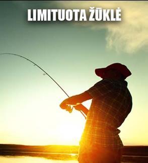 Žvejo mėgėjo kortelė limituotai upinių nėgių žvejybai nuo balandžio 1 d. iki balandžio 30 d.
