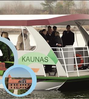 """Poilsinės pažintinės kelionės laivu """"Kaunas"""": Kaunas-Raudondvaris-Kaunas"""