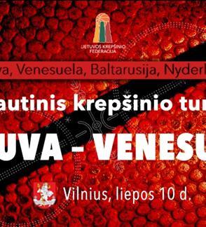 Tarptautinis krepšinio turnyras Lietuva – Venesuela