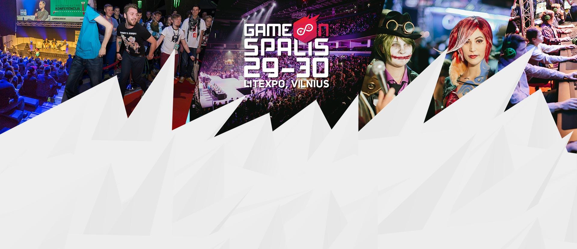 GameOn - žaidimų kultūros šou