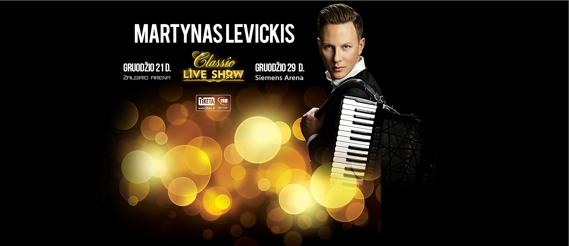 Martynas Levickis - Classic Live Show