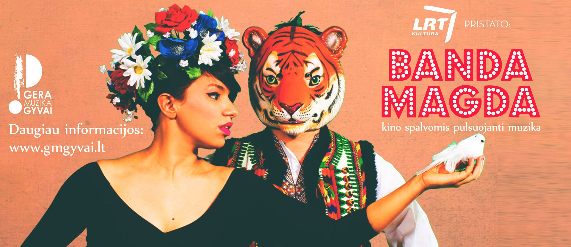 Banda Magda - kino spalvomis alsuojanti muzika