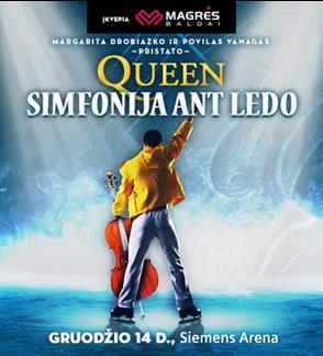 Queen simfonija ant ledo