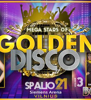 "Koncertas ""Golden Disco 3"""