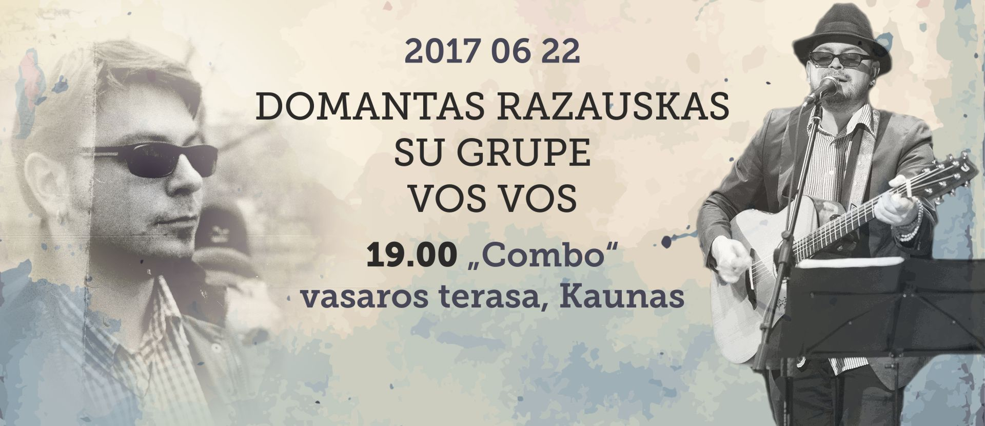 "Domantas Razauskas and the group ""Vos vos"""