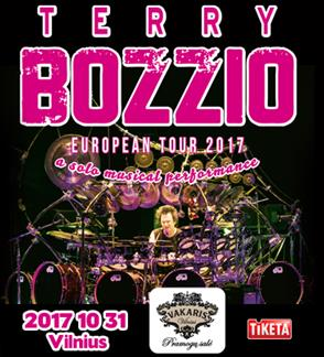 TERRY BOZZIO - European tour 2017
