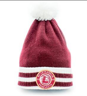 """Panevėžio """"Lietkabelio"""" krepšinio klubo oficiali žieminė kepurė"""