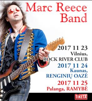 MARC REECE BAND – Live: Let It Burn!