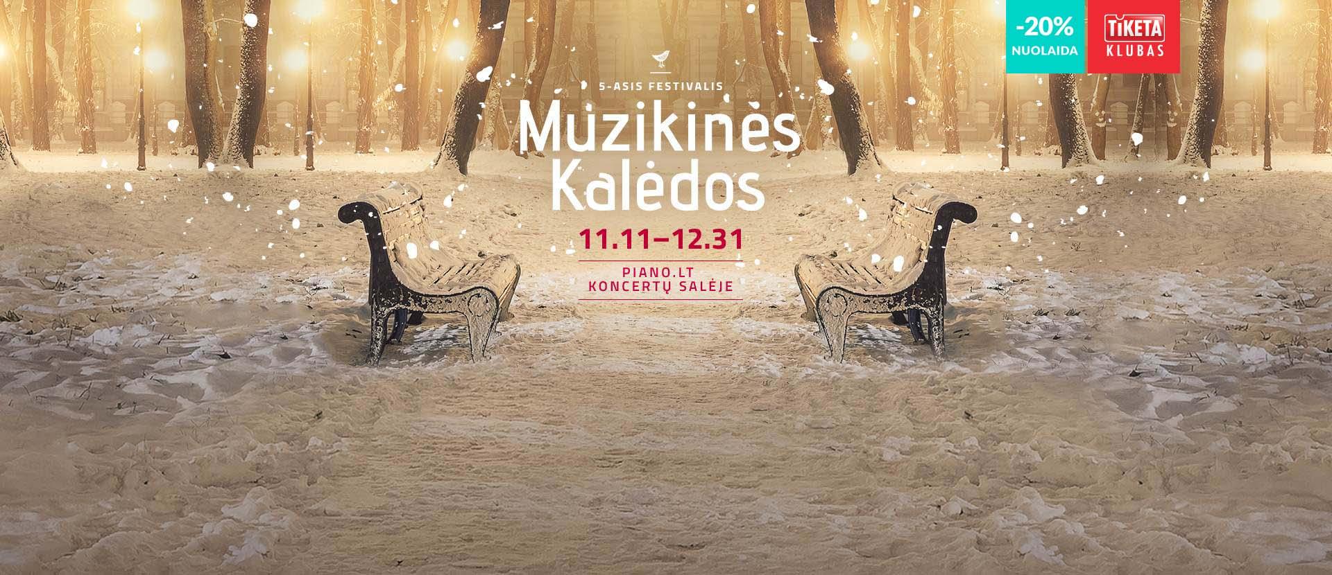 5-asis festivalis MUZIKINĖS KALĖDOS