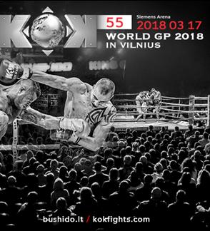 """Tarptautinis turnyras """"BUSHIDO KOK 2018 Vilnius"""""""