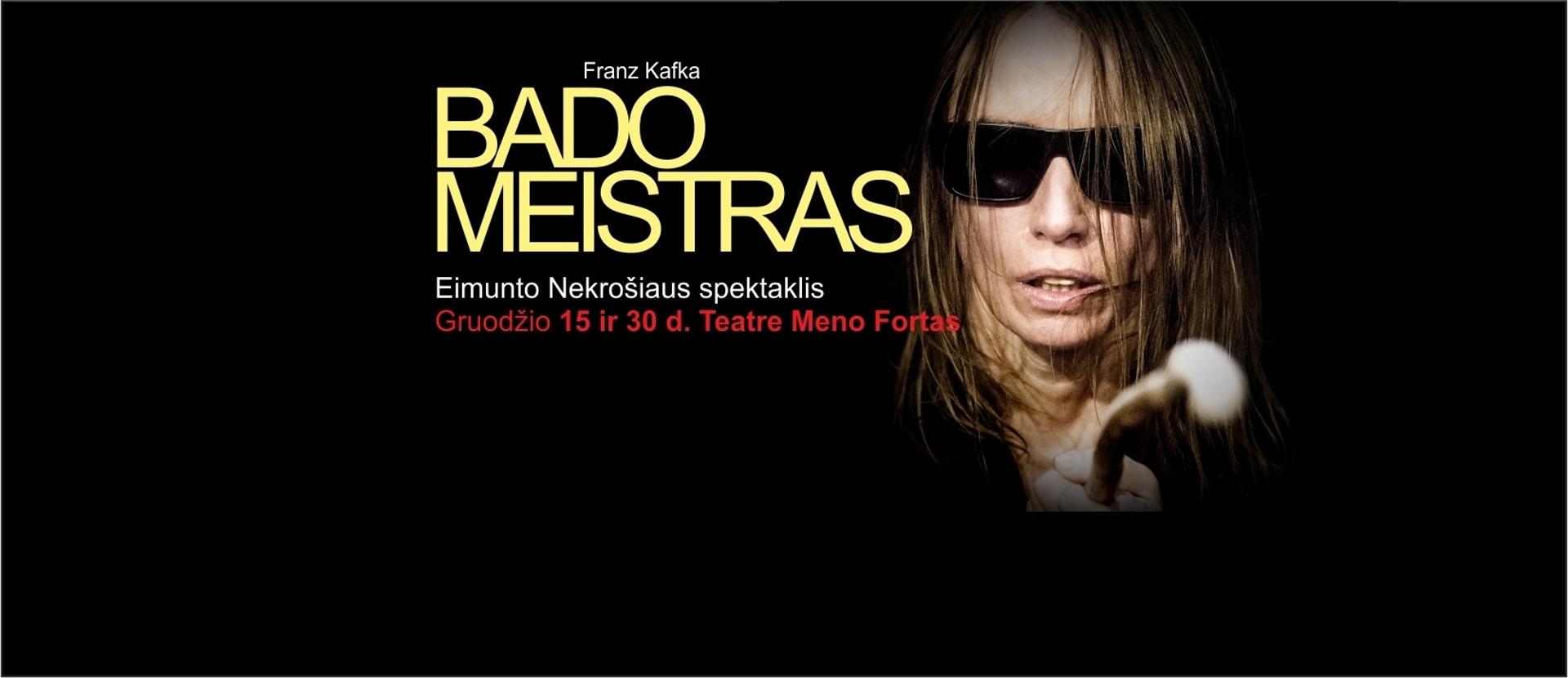 """The Hunger Master"" directed by Eimuntas Nekrošius"