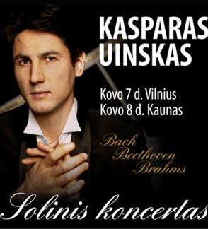 Kasparas Uinskas - solinis koncertas