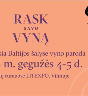 """Wine exhibition """"Vyno dienos 2018"""""""