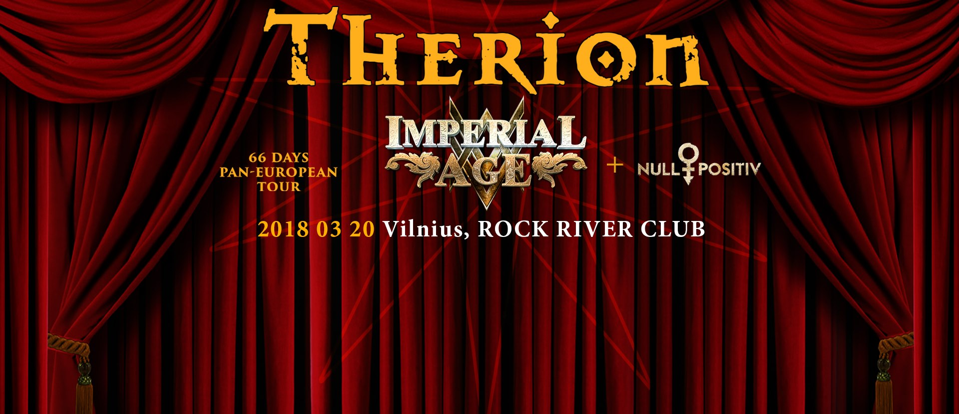 THERION - Beloved Antichrist Tour 2018