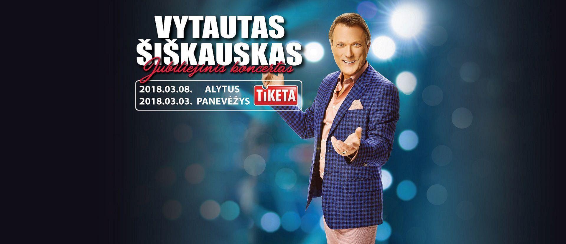 """Vytautas Šiškauskas """"Gražiausi metai-geriausios dainos"""""""