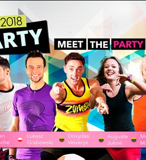 ZUMBA PARTY 2018 - šokių ir fitneso maratonas