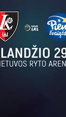 """""""Lietuvos ryto"""" krepšinio rungtynės"""