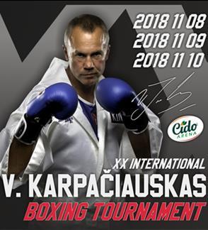 XX-asis tarptautinis V. Karpačiausko bokso turnyras
