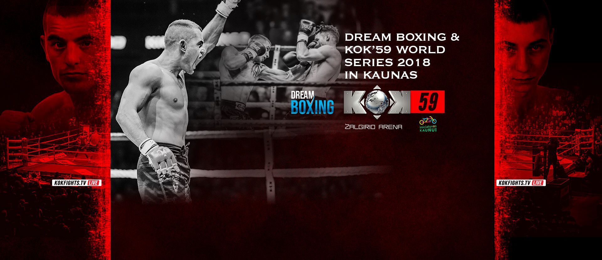 DREAM BOXING AND KOK`59 WORLD SERIES 2018 IN KAUNAS