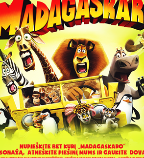 PABĖGIMAS IŠ MADAGASKARO
