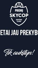 Karaliaus Mindaugo taurės antrojo etapo rungtynės Prienų SKYCOP – Alytaus DZŪKIJA