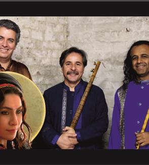 GIAN TRIO & RAHELE BARZEGARI (Iranas)