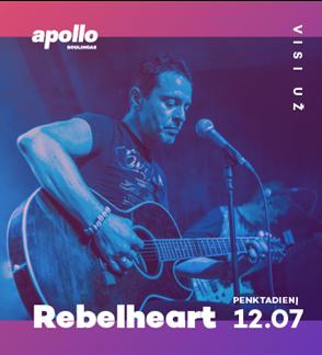 Rebelheart  | Gyvo Garso Koncertas