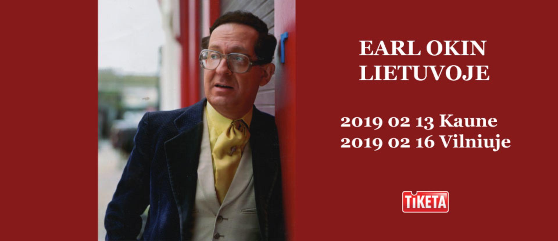 Earl Okin in Lithuania