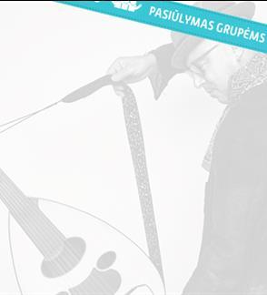 """Pasiūlymai grupėms: Dhafer Youssef  (Prancūzija) /  Festivalio """"TheATRIUM"""" uždarymo koncertas"""