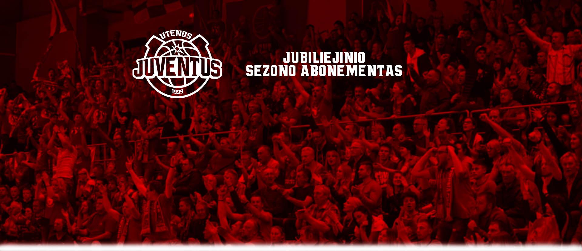 """Krepšinio klubo """"Juventus"""" 2019/2020 metų sezono abonementas"""