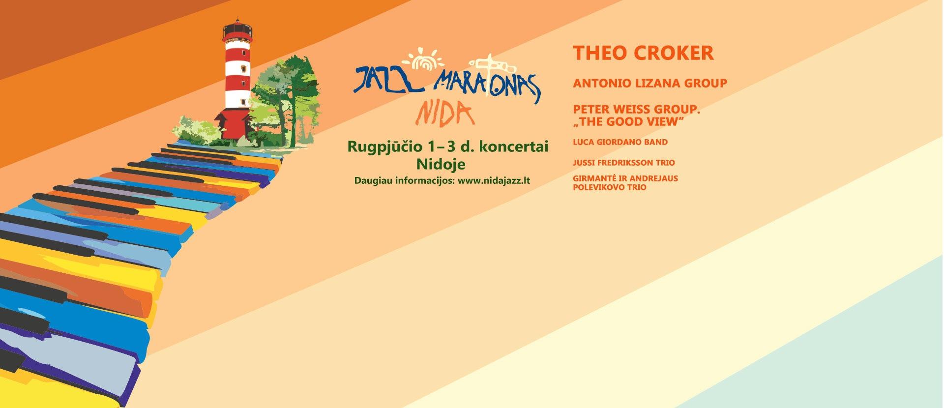 """Džiazo festivalis """"Nida Jazz Maratonas 2019"""""""
