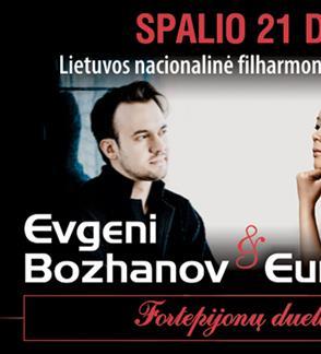 Fortepijonų duetas: Evgeni Bozhanov ir Yeol Eum Son