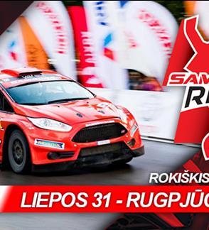 """Rally fiesta """"Samsonas Rally Rokiškis"""""""