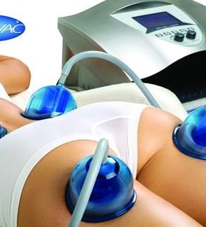 Anticeliulitinis masažas su STARVAC aparatu