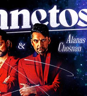 Leon Somov ir Alanas Chošnau. Planetos