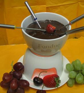 Šokolado fondiu