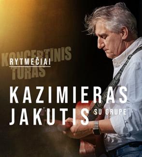 Kazimiero Jakučio ir grupės koncertas Rytmečiai