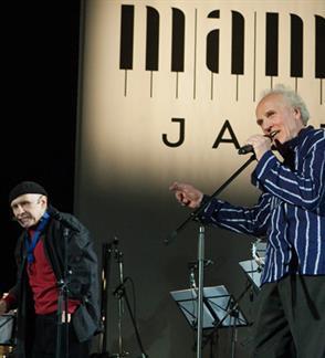 """VILNIUS MAMA JAZZ I Vladimiras ČEKASINAS ir Vladimiras TARASOVAS """"Fantazijos pagal vienuolika Nietzsche's strofų"""""""