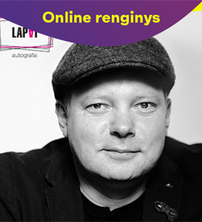 ONLINE: Vilniaus lapai. Vakaras su rašytoju Rimantu Kmita