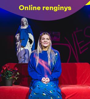 ONLINE: Kauno miesto kamerinis teatras MARI KARDONA (rež. A. Jankevičius)