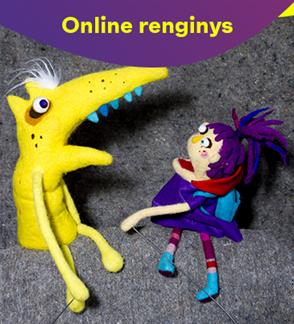 Online: Raudonkepuraitė