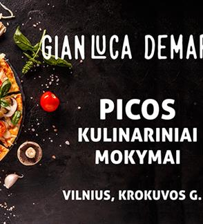 Picos gaminimo mokymai su Gian Luca Demarco